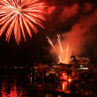 Fireworks, Victoria, BC, Canada — Stock Photo