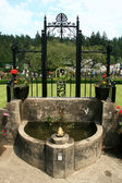 Fontän - butchart gardens, victoria, bc, kanada — Stockfoto