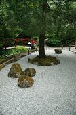Ogród zen - najpiękniejsze ogrody, victoria, bc, kanada — Zdjęcie stockowe