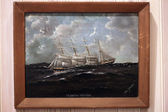 Fartyget målning - bc maritime museum, victoria, bc, kanada — Stockfoto