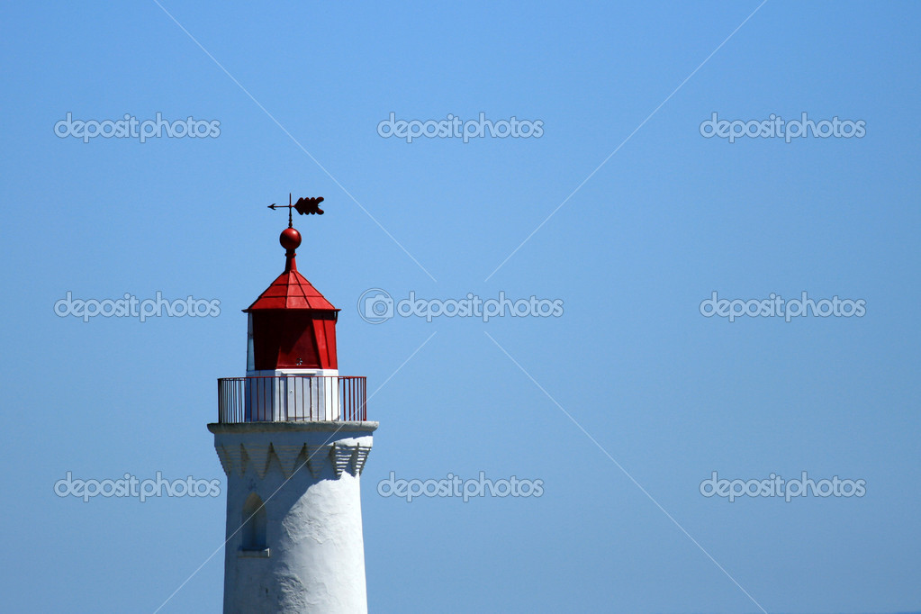 Fisgard Lighthouse in Victoria, Vancouver Island - BC, Canada — Stock Photo #14386807