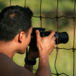 Photographer - Vancouver Zoo, Canada — Stock Photo