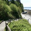 Seawall - Stanley Park, Vancouver, Canada — Stock Photo