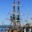 Old Fashioned Ship - Harbour , Victoria, BC, Canada — Foto Stock