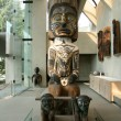 Totem Pole - Museum of Anthropology,  Vancouver, BC, Canada - Zdjęcie stockowe