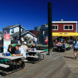 Fishermans Wharf, Victoria, BC, Canada - Stock Photo