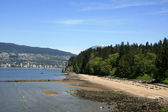 3rd Beach - Stanley Park, Vancouver, BC, Canada — Stock Photo