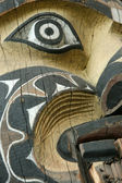 Totempfahl - museum of anthropology in vancouver, bc, kanada — Stockfoto