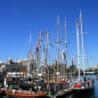 Old Fashioned Ship - Harbour , Victoria, BC, Canada — Foto de Stock