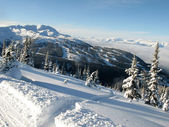 Blackcomb Mountain - Whister, BC, Canada — Stock Photo