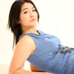 belle jeune modèle asiatique — Photo