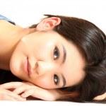 lindo jovem modelo asiático — Foto Stock #19129541