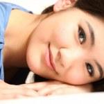 piękny młody model azjatycki — Zdjęcie stockowe #19129543