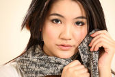 Beautiful Young Asian Woman — Stok fotoğraf
