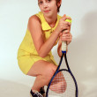 Tennis Player — Stock Photo #19612343