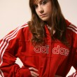 Sporty Attractive Young Caucasian Woman — Stockfoto