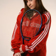 Joueuse de tennis — Photo