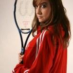 Tennis Player — Stock Photo #19616757