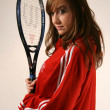 Tennis Player — Stock Photo #19616759