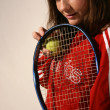 Tennis Player — Stockfoto #19616763