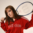 Foto de Stock  : Tennis Player