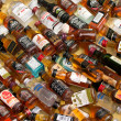 Alcohol Bottles For Sale in Chinatown — Zdjęcie stockowe #20215525