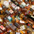 ストック写真: Alcohol Bottles For Sale in Chinatown