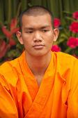 Moine bouddhiste dans chinatown — Photo