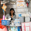 Woman Selling Food, Bangkok — Stock Photo