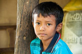 Young Boy - Chitwan NP , Nepal — Stock Photo