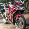 Honda Racing Bike — Stock Photo