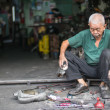 Repair Shop, Penang,Malaysia - Stock Photo