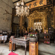 Temple at Peranakan Mansion — Foto Stock