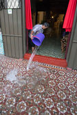 Flooding in Penang — Stock Photo