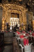 Temple at Peranakan Mansion — Stock Photo