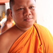 Buddhist Monk - Wat Suwannaram, Thailand — Stock Photo
