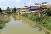 Phetchaburi River, Thailand — Stock Photo
