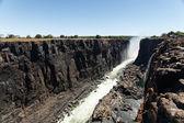 Victoria Falls, Africa — Stock Photo