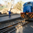 Stock Photo: Reliable rail transport in Livingstone