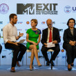 Stock Photo: BANGKOK - FEBRUARY 19 2013: MTV Exit Press Conference held in Ce