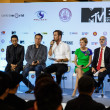 Stock Photo: MTV Exit Press Conference in World PlazBangkok