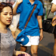 World's largest weekend market Chatuchak — 图库照片