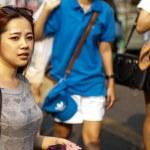 World's largest weekend market Chatuchak — Stock Photo