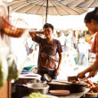 Stock Photo: World's largest weekend market Chatuchak
