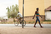Local people in Livingstone — Stock Photo