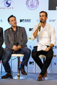 MTV Exit Press Conference in World Plaza Bangkok — Zdjęcie stockowe