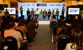 MTV Exit Press Conference in World Plaza Bangkok — Stock Photo