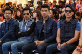 MTV Exit Press Conference in World Plaza Bangkok — Foto Stock