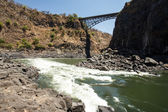Zambezi River in Africa — Foto de Stock