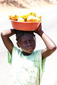 Local people in Zambia — Stock Photo